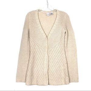 😍 A|X Armani Exchange 100% Alpaca Knit Cardigan!